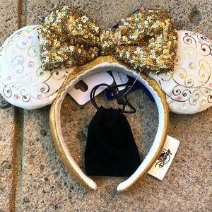 2021 Walt Disney World Parks 50th Celebration Castle Collection Light-up Ears